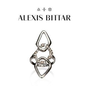 Alexis Bittar Miss Havisham Crystal Encrusted Ring